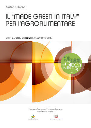 "Il ""made green in Italy"" per l'agroalimentare"