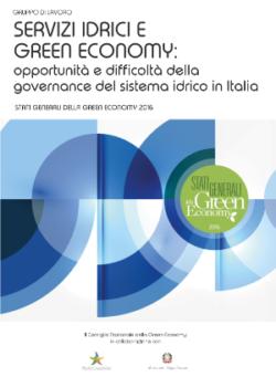 Servizi Idrici e Green Economy: opportunità e difficoltà della governance del sistema idrico in Italia