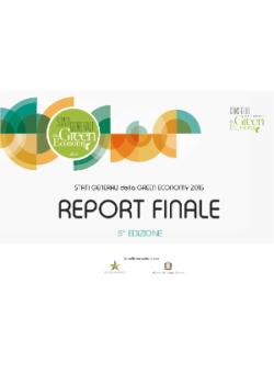 Report Finale della V Edizione