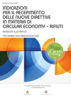 Indicazioni per la definizione e il recepimento delle nuove direttive in materia di circular economy rifiuti