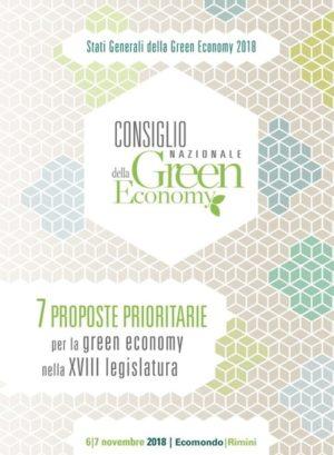 7 PROPOSTE PRIORITARIE per la green economy nella XVIII legislatura
